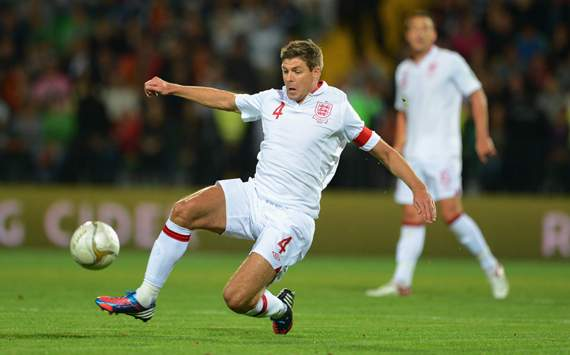Gerrard admits to having 'underachieved' in an England shirt