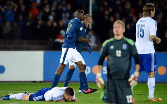 World Cup Qualifiers : Abou Diaby & Jeremy Menez (Finland vs France)