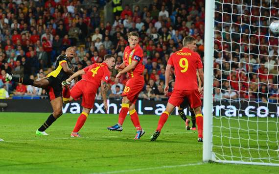 Wales v Belgium ,  FIFA 2014 World Cup Qualifier, Vincent Kompany
