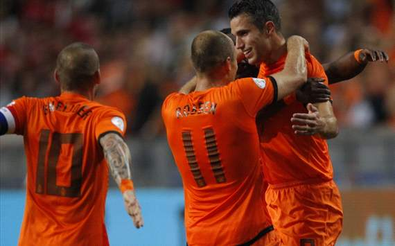 Robin van Persie, Netherlands - Turkey