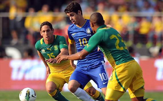 Oscar - Brazil vs South Africa, International Friendly