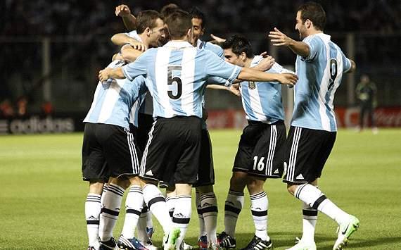 Festejo argentino
