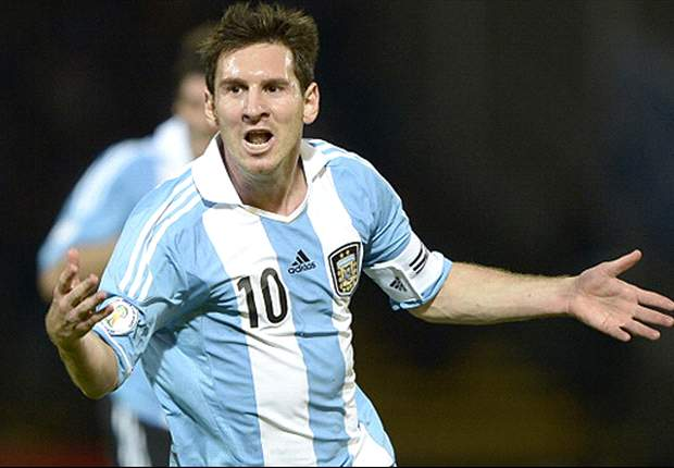 Messi urges Argentina teammates to keep up the pace
