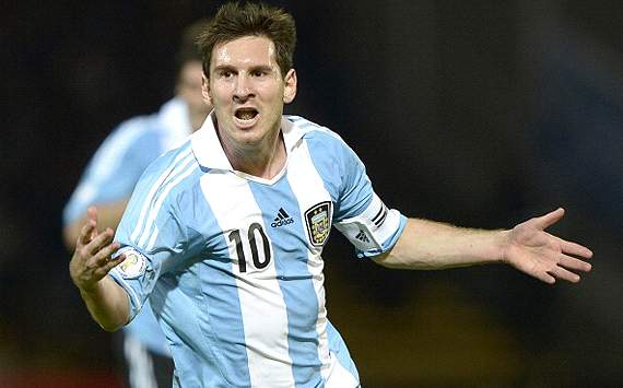 Messi, de todos los colores