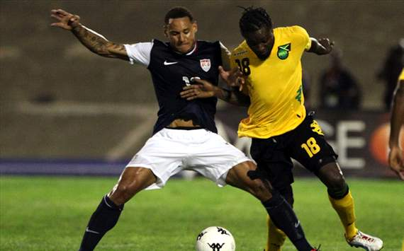 Jermaine Jones, Kavin Bryan, USA, Jamaica