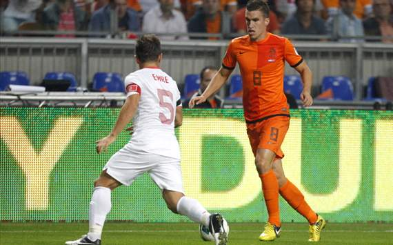 Kevin Strootman, Netherlands - Turkey