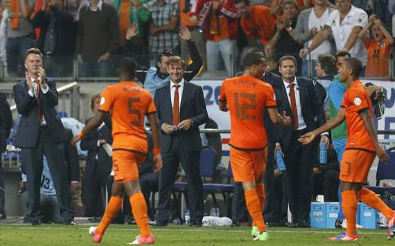 Van Gaal knows what he's doing, says Willems