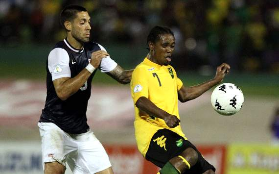 Clint Dempsey and Jason Morrison - Jamaica vs. USA