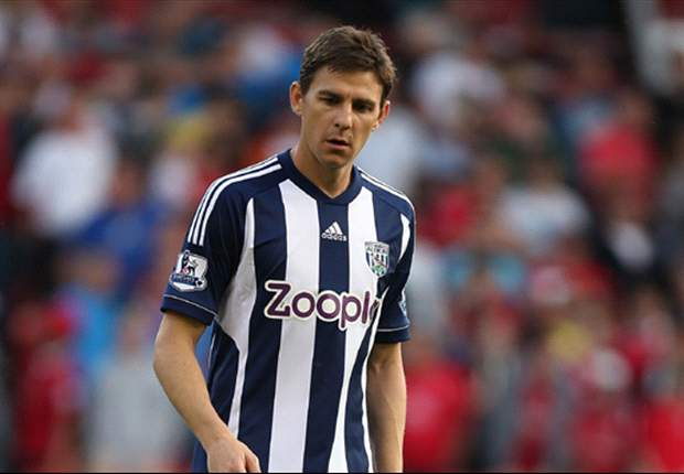 West Brom midfielder Gera sidelined with Achilles injury