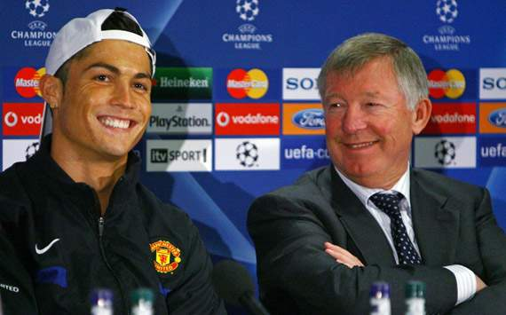 Sir Alex Ferguson Redam Rumor Cristiano Ronaldo