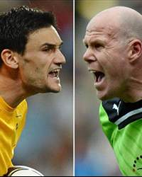 Hugo Lloris and Brad Friedel, Tottenham Hotspur