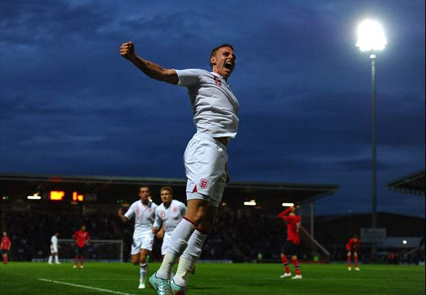 England Under-21s draw Serbia in Euro 2013 play-off