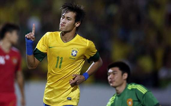 Friendly : Neymar, Brazil - China