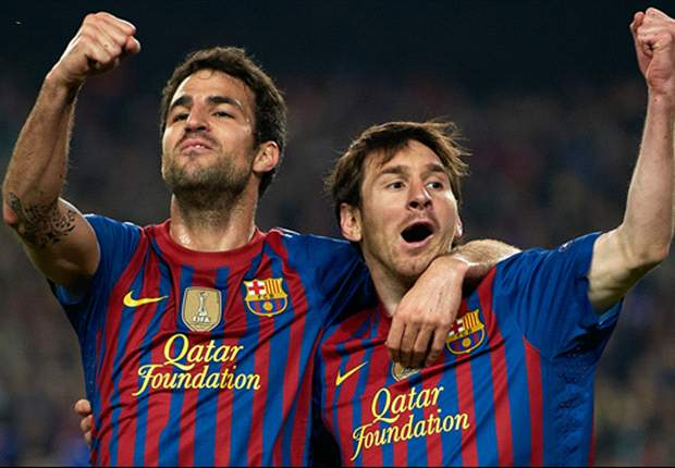 Fabregas: I knew what to expect at Barcelona, I'm not stupid