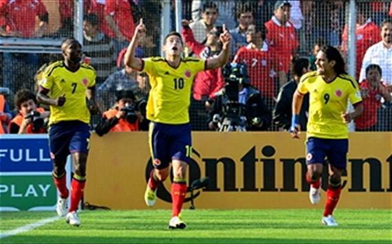 Colombia venció a Chile