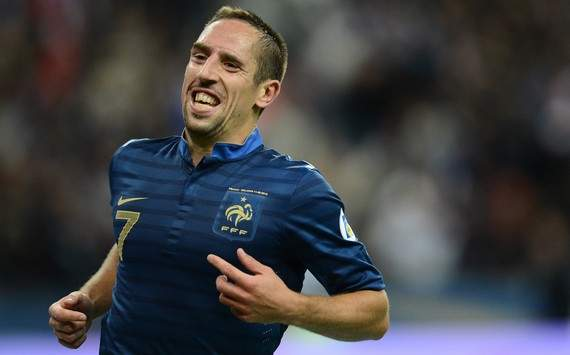 Ribery: Spain are the best in the world right now