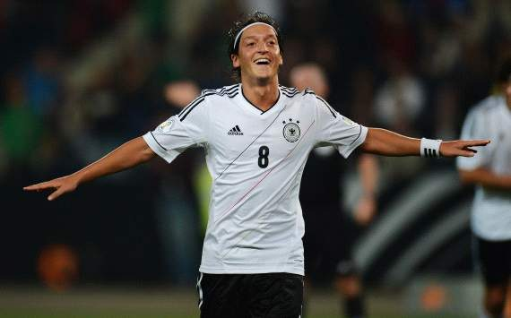 Real Madrid's Mesut Ozil named best German international by fans