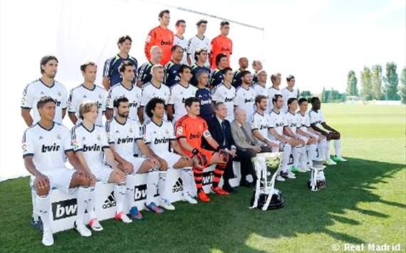 Foto oficial del Real Madrid 2012-13