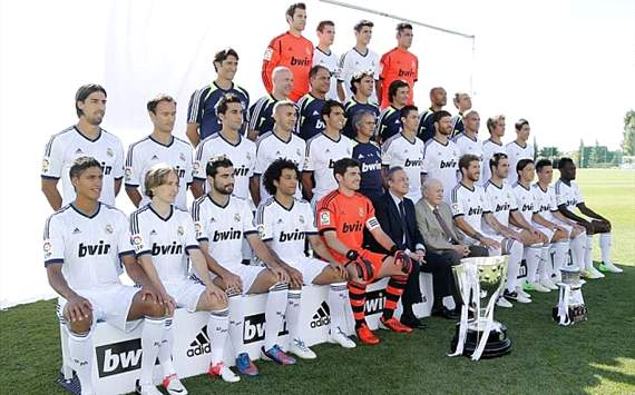 Real Madrid Oficial Photo 2012-3