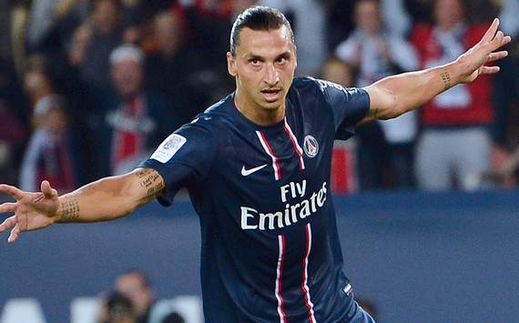 Ligue 1 : Zlatan Ibrahimovic (Paris SG vs Toulouse FC)