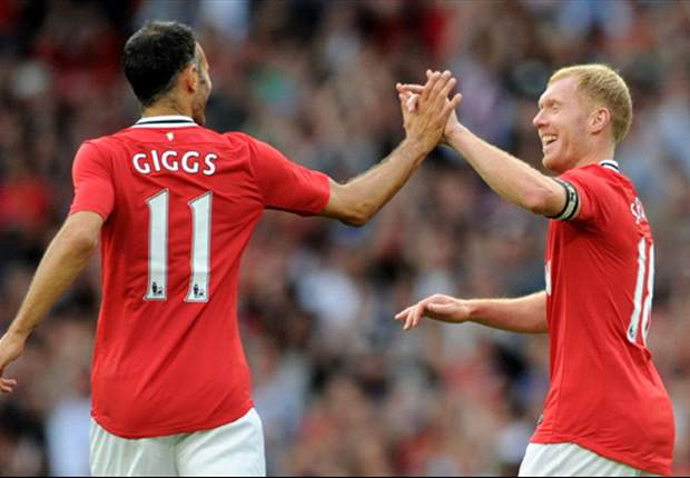 The centurions: Ferdinand, Giggs and Scholes continue to set example to Manchester United youngsters