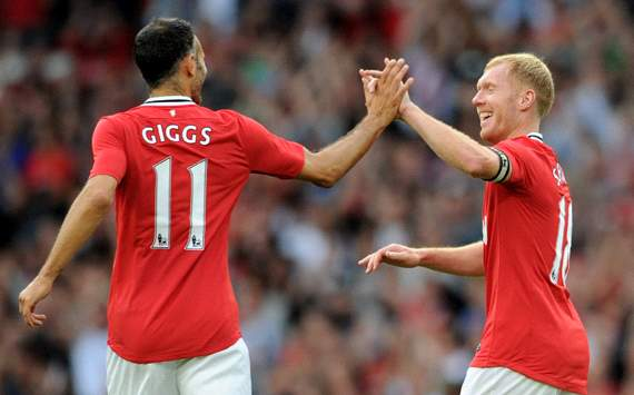 'Scholes is the most talented player I played with' – Giggs picks best XI of Manchester United team-mates