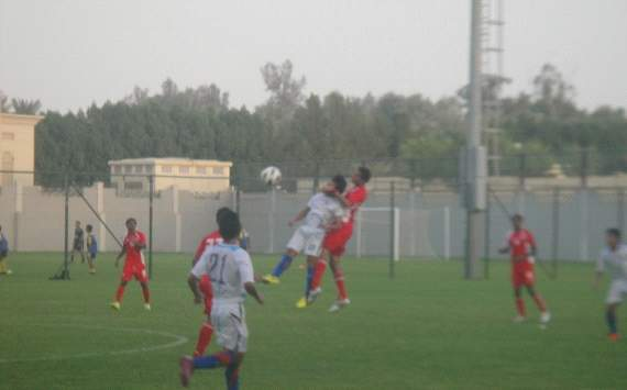 UAE U-16 down India Colts 3-2 in a friendly
