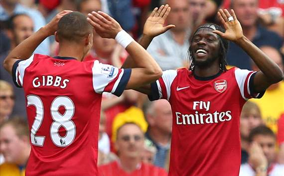 Gervinho, Gibbs, Arsenal