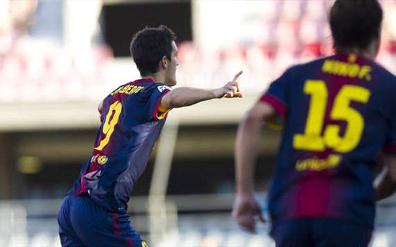 Barcelona B 3-3 Numancia: Final de locos en el Mini Estadi
