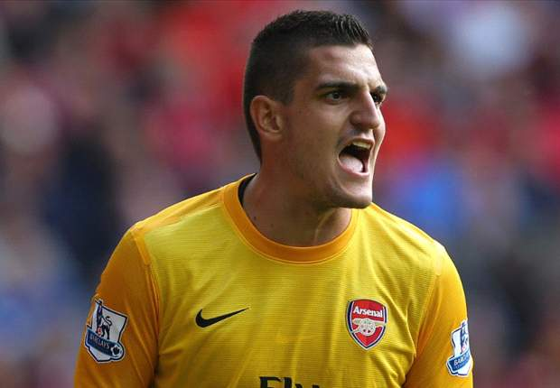 Mannone 'ready' to be Arsenal's first choice