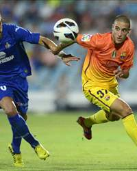 Juan Valera, Cristian Tello - Getafe v Barcelona