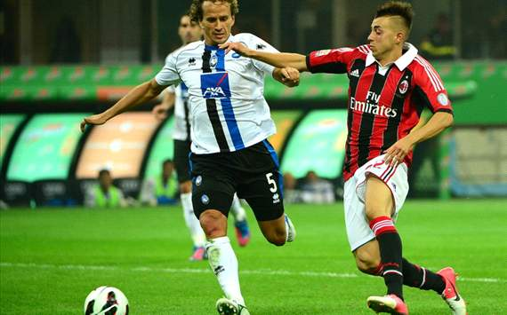 Thomas Manfredini (A), Stephan El Shaarawy (M) - Milan-Atalanta - Serie A