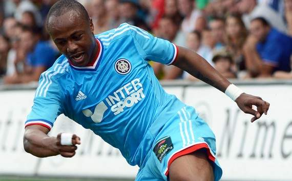 Injury to Marseille's Andre Ayew not as serious as feared