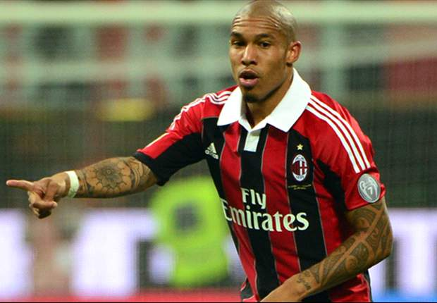 Nigel de Jong admits AC Milan is a work in progress