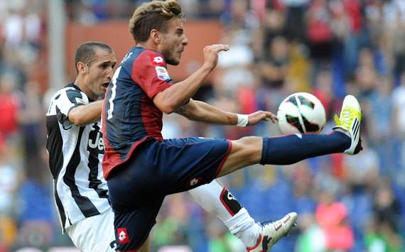 Chiellini &amp; Immobile - Genoa-Juventus - Serie A
