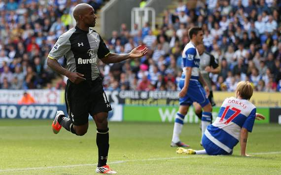 EPL - Reading vs Tottenham, Jermain Defoe