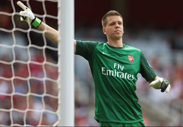 Szczesny out of Arsenal's Champions League opener against Montpellier