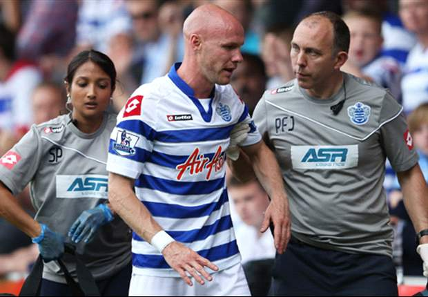 QPR confirm Andy Johnson set to miss majority of season with ACL injury