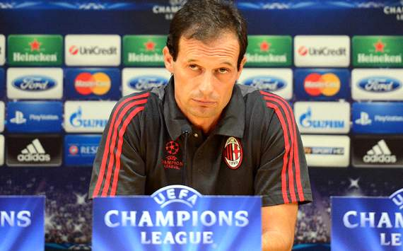 Allegri urges AC Milan troops to move on from disappointing start