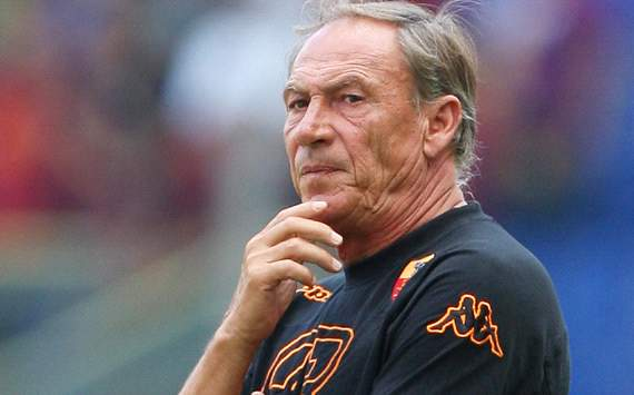 Roma's Zeman rues 'terrible' defeat at the hands of Juventus