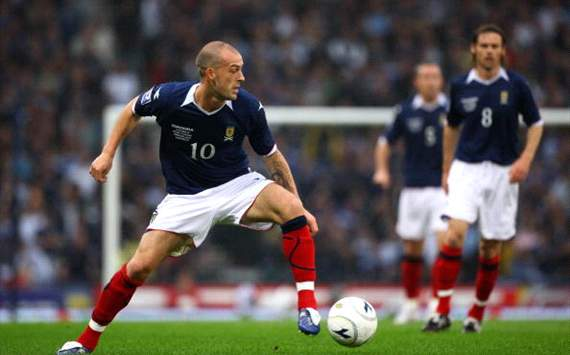 Steven Fletcher of Scotland