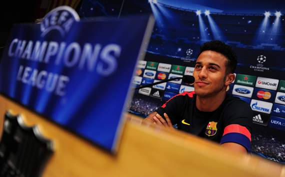 Thiago: Messi and Villa argument was just a discussion, and shows our ambition