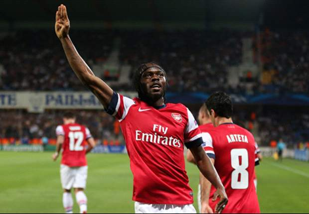 Wenger delighted with Gervinho's impact up front