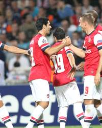Champions League, Montpellier v Arsenal