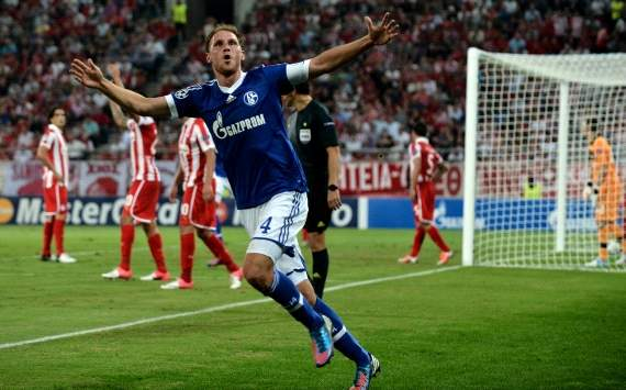 Champions League, Olympiakos Piraeus vs. FC Schalke 04, Benedikt Howedes