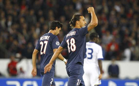 Champions League - Paris Saint Germain vs Dynamo Kiev (Ibrahimovic)