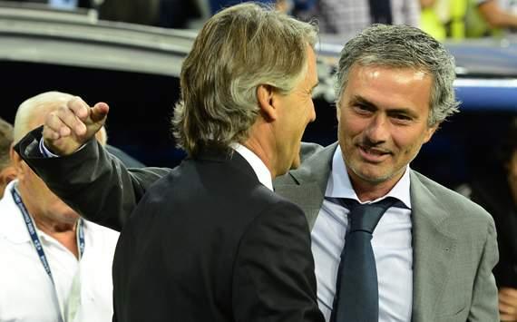 Roberto Mancini, Jose Mourinho, Real Madrid, Manchester City