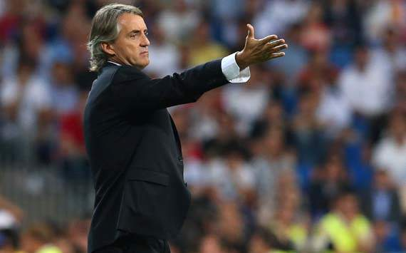 UEFA Champions League; Roberto Mancini; Real Madrid v Manchester City FC