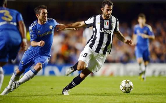 Chelsea 2 - 2 Juventus Wedstrijdverslag 19-09-12 UEFA ...