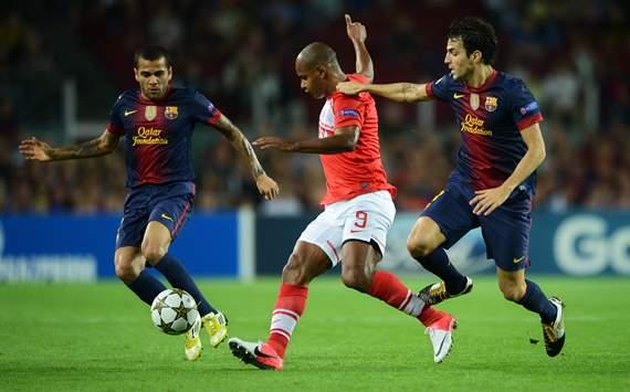Daniel Alves; Ari; Cesc Fabregas, Barcelona, Spartak
